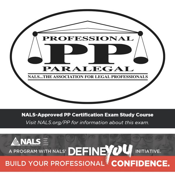 Nals Pp Exam Review Peg Certification Exam Reviews Paralegal
